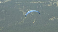 Paraglider 02 Stock Footage