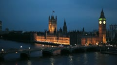 Houses of Parliament 04 - stock footage
