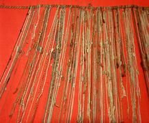 inca - quipu - stock photo
