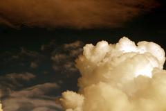 Clouds in the sky Stock Photos