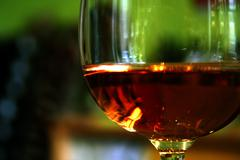Glas of wine Stock Photos