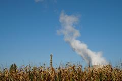 heavy industry - stock photo