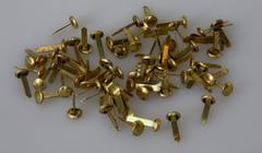 Brass fastener Stock Photos