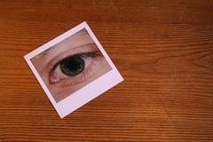 eye picture - stock photo