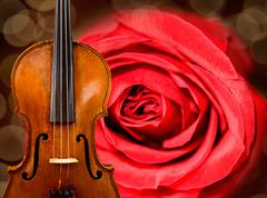 Violin background Stock Illustration