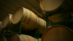 Wine barrels 22 HD Stock Footage
