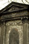 cementery - stock photo