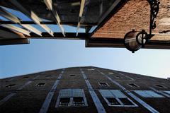 Streets of maastricht, netherlands Stock Photos