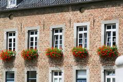 Old house in aachen, germany Stock Photos