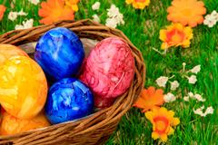 Stock Photo of ester eggs