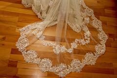 Stock Photo of wedding dress