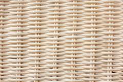 woven wooden surface - stock photo