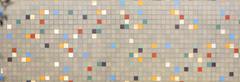 Retro mosaic wall Stock Photos