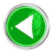 Web button left Stock Illustration