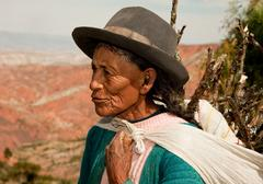Stock Photo of woman, south america