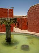 santa catalina monastery (arequipa) - stock photo