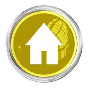 Web button home Stock Illustration