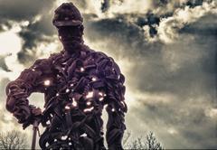 I Am Ironman - stock photo
