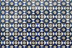 portuguese glazed tiles 001 - stock photo