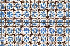 portuguese glazed tiles 034 - stock photo