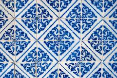 Portuguese glazed tiles 013 Stock Photos