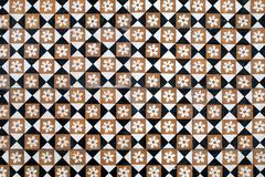 portuguese glazed tiles 015 - stock photo