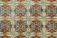 Portuguese glazed tiles 011 Stock Photos