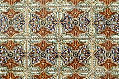 portuguese glazed tiles 011 - stock photo