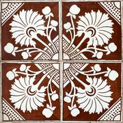 portuguese glazed tiles 006 - stock photo