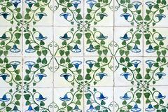 Portuguese glazed tiles 044 Stock Photos