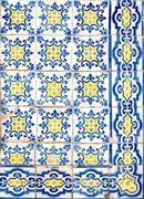 Portuguese glazed tiles 051 Stock Photos