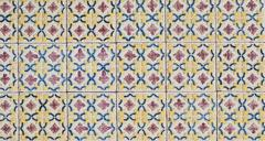 portuguese glazed tiles 072 - stock photo