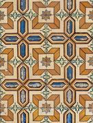 Portuguese glazed tiles 075 Stock Photos