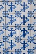 Stock Photo of portuguese glazed tiles 082