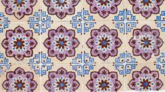 Portuguese glazed tiles 096 Stock Photos