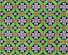 Stock Photo of portuguese glazed tiles 099