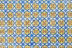 Stock Photo of portuguese glazed tiles 107