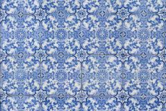 portuguese glazed tiles 126 - stock photo