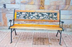 Vintage bench Stock Photos