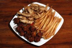 Finger foods Stock Photos