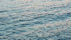 Rote and sea sunset water surface (nature background) Stock Footage