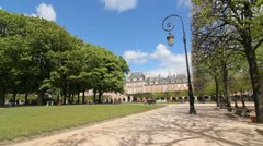Place des Vosges. Stock Footage