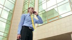 Calling - stock footage
