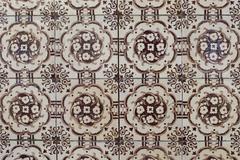 portuguese glazed tiles 164 - stock photo
