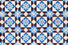 portuguese glazed tiles 155 - stock photo