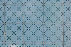 portuguese glazed tiles 149 - stock photo