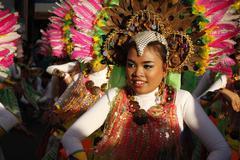 Joyous Street Dancer Stock Photos