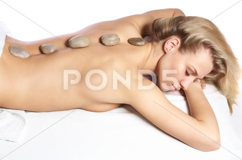 Stock photo of Girl on spa