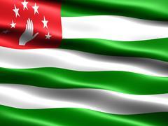 Stock Illustration of Flag of Abkhazia
