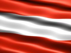 flag of austria - stock illustration